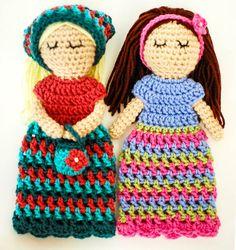 Customizable doll crochet pattern #crochet #amigurumi ;-)