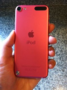 ipod touch 5th generation -- This WILL be mine soon! :D ...
