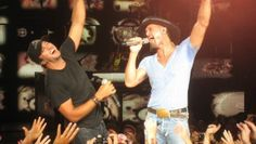 too perfect. Tim McGraw and Luke Bryan 2011 tour