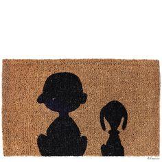 PEANUTS Fußmatte Charlie & Snoopy - Wohnaccessoires