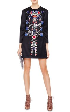 Embellished-Wool Dress by Mary Katrantzou - Moda Operandi