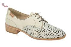 Pikolinos  877-9527a Nata-onyx, Chaussures à lacets et coupe classique femme - beige - beige, 36 - Chaussures pikolinos (*Partner-Link)