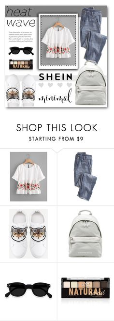 """""""SHEIN"""" by kengy-x ❤ liked on Polyvore featuring Wrap and NYX"""