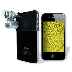 microscope for iphone.  how cool is that!? £29.99
