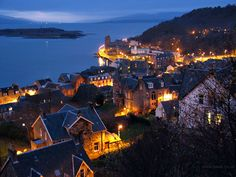 Scotland's west coast - Oban At Dusk