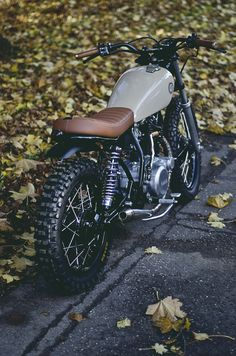 Yamaha SR250 11 by Auto Fabrica  nice! Lean mean hell off a machine