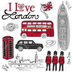 reloj de london dibujo - Buscar con Google