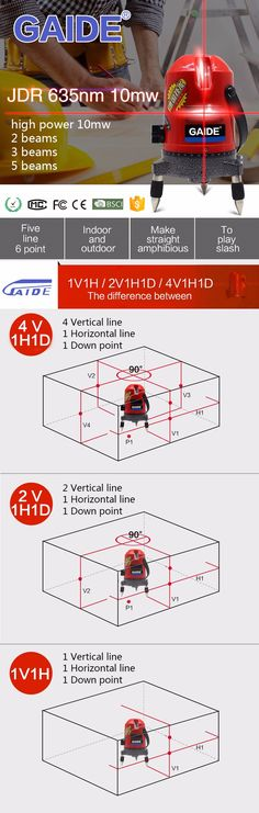 2 corss multi line construction laser levels outdoor use prices OEM