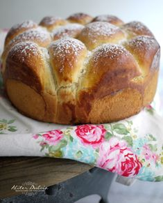 Great and not so sweet cake with Mascarpone cheese. (from Aliter Dulcia web - Gijón) Sweet Cooking, Joy Of Cooking, Easy Cooking, Pan Bread, Bread Cake, Bread Baking, Donuts, Sweet Dough, Bread Appetizers