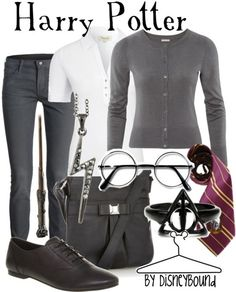Harry Potter Outfit!!!!  LOVE this.