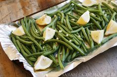 Give your Thanksgiving side dishes a little extra oomph this year. These zesty Lemon Garlic Roasted Green Beans are tender and fragrant — and absolutely delicious. We are two weeks and six days from Thanksgiving. Not that I am counting of course … but seriously, I can't wait. The food! The family! The football! And...Read More »