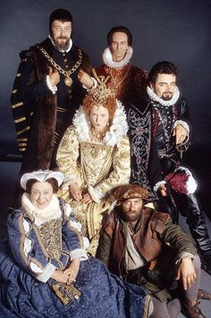 Blackadder - Rowan Atkinson & Tony Robinson & Stephen Fry & Hugh Laurie & Miranda Richardson