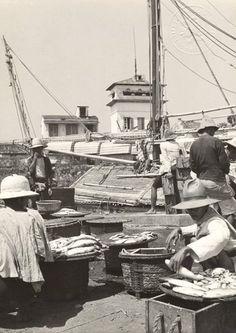 Pasar Ikan te Batavia 1938-1939.