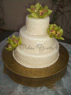 Pastel de boda en Mexicali F#123 / Wedding cake