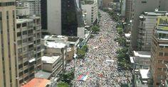 Revolution Rising: Colossal Protests Rock Socialist Venezuela