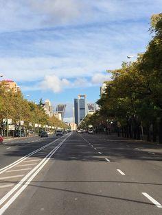 Paseo la Castellana Madrid