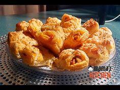 Gevulde Bladerdeeg Hapjes Met Kip - YouTube Snacks, High Tea, Cauliflower, Vegetables, Easy, Youtube, Food, Tea, Appetizers