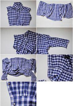 DIY T Shirt Peplum Top – Day 24 http://interestingfor.me/diy-t-shirt-peplum-top-day-24/