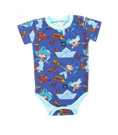 Body PirateBoy-Blue Baby Body, Onesies, Blue, Clothes, Fashion, Guys, Kleding, Kids, Outfits