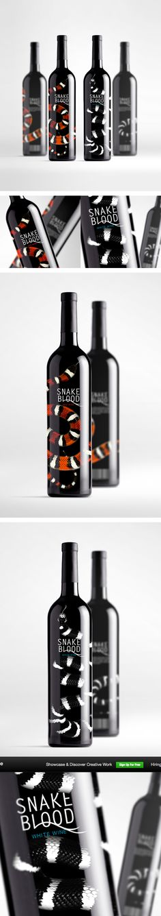 Snake Blood Wine set by Sasha Ermolenko
