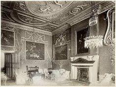 The Saloon, Easton Neston, 1881