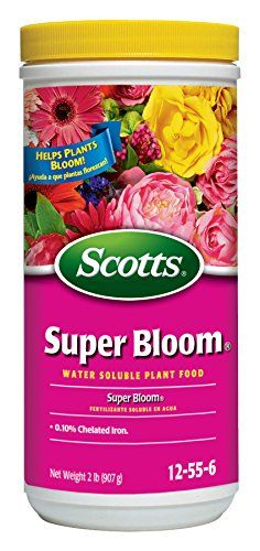 Scotts 110500 Super Bloom Water Soluble Plant Food, 2-Pou...