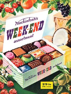 My siblings and I often bought these for our mum. Happy memories of childhood. Vintage Sweets, Retro Sweets, Vintage Candy, Vintage Food, Retro Food, Vintage Tv, Vintage Music, Retro Advertising, Retro Ads