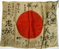 Japanese Soldier Rising Sun Flag   wwii-japanese-soldier-antique-rising-sun-battle-flag_380285426141