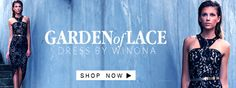 The Garden of Lace Dress by Winona only at White Runway