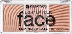 light up your face luminizer palette 10 ready, set, glow! - essence cosmetics
