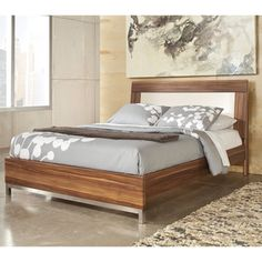 Signature Design by Ashley Candiac Platform Bed | Overstock™ Shopping - Great Deals on Ashley Beds