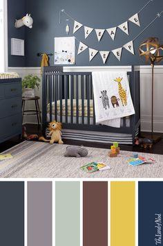 Create a boys nursery with safari-inspired bedding, decor and more.