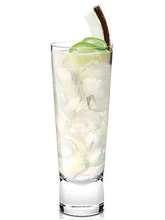Recipe: Try the Yankee Doodle, a refreshing coconut/lime cocktail!