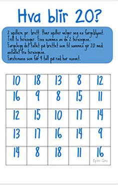 Naturfagserie for barn Matte, Periodic Table, Education, Anna, 2nd Grades, First Grade, Periodic Table Chart, Periotic Table, Onderwijs