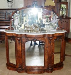Sunning Victorian Burr Walnut Chiffionier for sale Liquor Cabinet, Renaissance, Victorian, Storage, Antiques, Furniture, Home Decor, Purse Storage, Antiquities