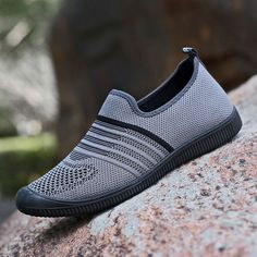 02f9d821c0d82 US$29.90 - Men Fabric Breathable Soft Sole Slip On Casual Walking Shoes  Walking Shoes,
