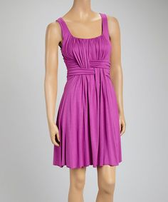 Look at this #zulilyfind! Orchid Weave Sleeveless Dress #zulilyfinds