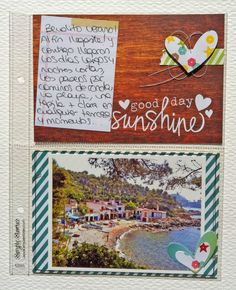 Sn@p Life con la colección Good Day Sunshine de simple Stories #scrapbooking #sn@plife #madscraproject #MSP Scrapbooks, Cover, Projects, Life, Art, Summer Time, Log Projects, Kunst, Scrapbooking