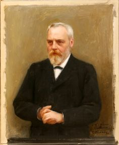 Emile Friant (French: 1863 - 1932) -  Portrait of Georges Le Monnier