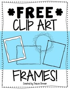 Free Frames & Borders Clip Art For Commercial Use  Vol 1... Graphic Arts, Products For TpT Sellers Grade Levels PreK, Kindergarten, 1st, 2nd, 3rd, 4th, 5th, 6th, 7th, 8th, 9th, 10th, 11th, 12th, Higher Education, Homeschool, Staff Resource Types Bulletin Board Ideas, Clip Art, By TpT Sellers for TpT Sellers....6 pages....Great for title pages or to spruce up a worksheet. Also works for scrapbookers and digital designers. Yes, these can be used for commercial use