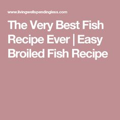 Are you ready to try something new for dinner? This very best fish recipe ever is bursting with savory flavors and is foolproof. Wow your family tonight! Fish Recipes Halibut, Fresh Fish Recipes, Paleo Fish Recipes, White Fish Recipes, Seafood Recipes, Dinner Recipes, Fish Recipe Low Carb, Breaded Fish Recipe, Blackened Fish Recipe