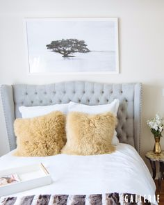 Fashion influencer @DevonRachel1 created the ultimate guest bedroom retreat with Z Gallerie Style Personalities. Shop her look on zgallerie.com.