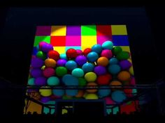Video Mapping  3D realizado sobre  una de las caras del emblematico Cubo del Pabellón de España de la Expo 92 el pasado día 24 de mayo como espectáculo principal de la inauguración de la terraza Plaza Europa de Sevilla. www.visuall.es