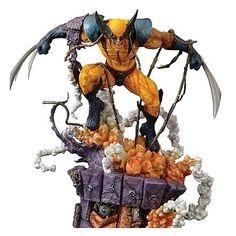 X-Men Wolverine Statue
