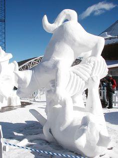 Snow Sculpture - Breckinridge, CO