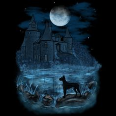 The Hound of the Baskervilles is a T Shirt designed by lermannika to illustrate your life and is available at Design By Humans