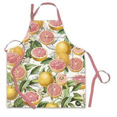 Pink Grapefruit Apron – Loves Creation