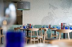Pizza Express restaurant in Banstead by Turnerbates Design & Architecture