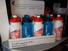 CubeBikes Drinking Bottles @DesertBikesBCS