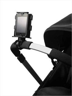 A Stroller Smartphone Holder   30 Unexpected Baby Shower Gifts That Are Sheer Genius